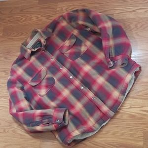 Grizzly mountain flannel jacket xl